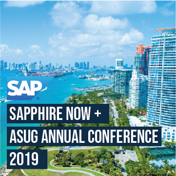 SAPPHIRE NOW + ASUG Annual Conference 2019