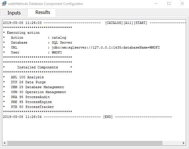 Database Configurator